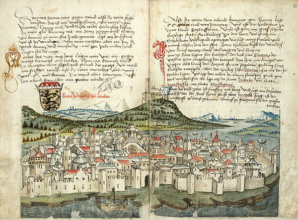 The sack of Zadar during the 4th crusade